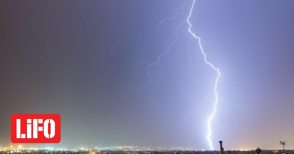 Καιρός – ΕΜΥ: Έκτακτο δελτίο επικίνδυνων φαινομένων με ισχυρές καταιγίδες και κεραυνούς – Πού θα εκδηλωθούν
