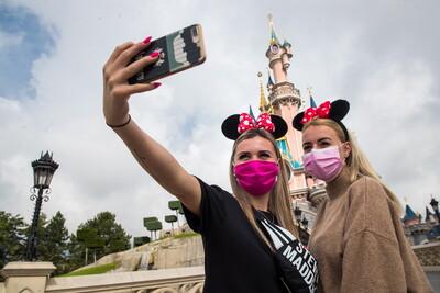 Selfie στην Disneyland