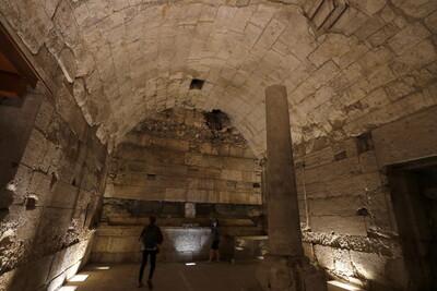 Ιερουσαλήμ: Αποκαλύφθηκε αίθουσα συμποσίων που χρονολογείται από την εποχή του δεύτερου ναού (Φωτογραφίες)