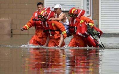 Κίνα πλημμύρες