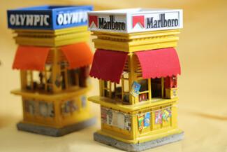 Τα περίπτερα της παλιάς Αθήνας έγιναν μινιατούρες