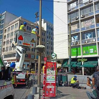 Πλατεία Ομονοίας: Συσκευές που καθαρίζουν τον αέρα- ισοδύναμες με 30 δέντρα