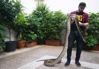 Reptile love: 3 νέοι που ζουν με τα ερπετά τους μιλούν για τη μεγάλη τους αγάπη