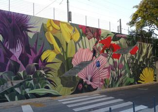 Η άγρια, πολύχρωμη φύση αλλάζει την όψη των πόλεων
