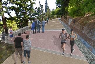 Λυκαβηττός: Ξεκίνησε το έργο για την αναζωογόνηση του λόφου με το αστικό δάσος 443 στρεμμάτων (Εικόνες)