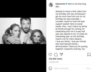 Η Τζένιφερ Λόπεζ έγινε 52- Το παθιασμένο φιλί στον Μπεν Άφλεκ για τα γενέθλια