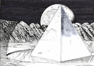 Μύθοι και στοχασμοί σχετικοί με έναν ορθόλιθο μέσα από έργα του Μανόλη Κορρέ