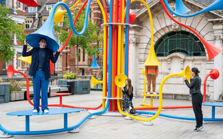 «Sonic Bloom»: Τυχαίοι περαστικοί μιλούν μεταξύ τους μέσα από σωλήνες στο Λονδίνο
