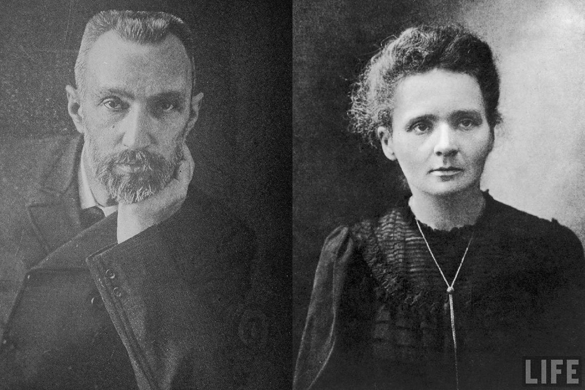 Marie And Pierre Curie And Their Boss Henri Becquerel Pictures to pin ...