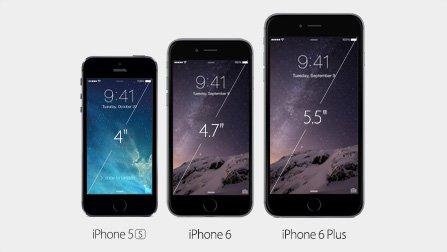 Τα δύο νέα μοντέλα του iPhone 6 σε σχέση με το 5S