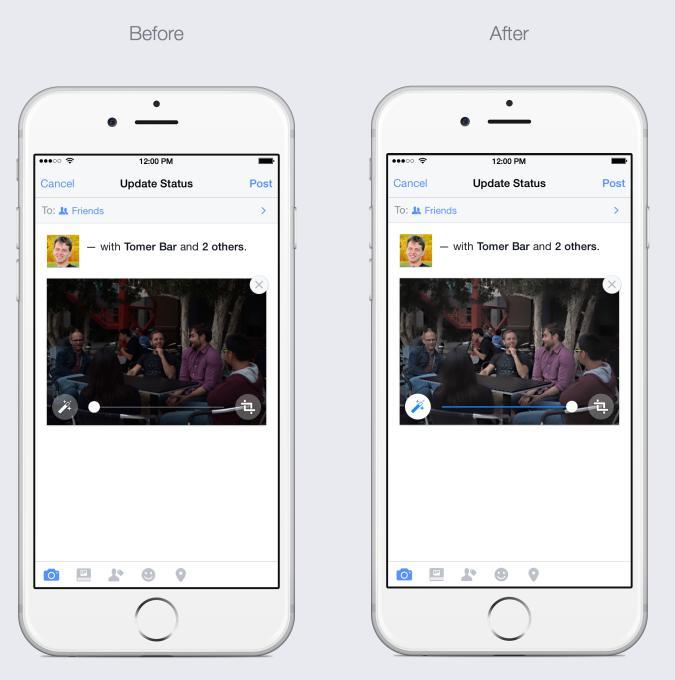 Η φωτογραφία, πριν και μετά την αυτόματη βελτίωση του Facebook