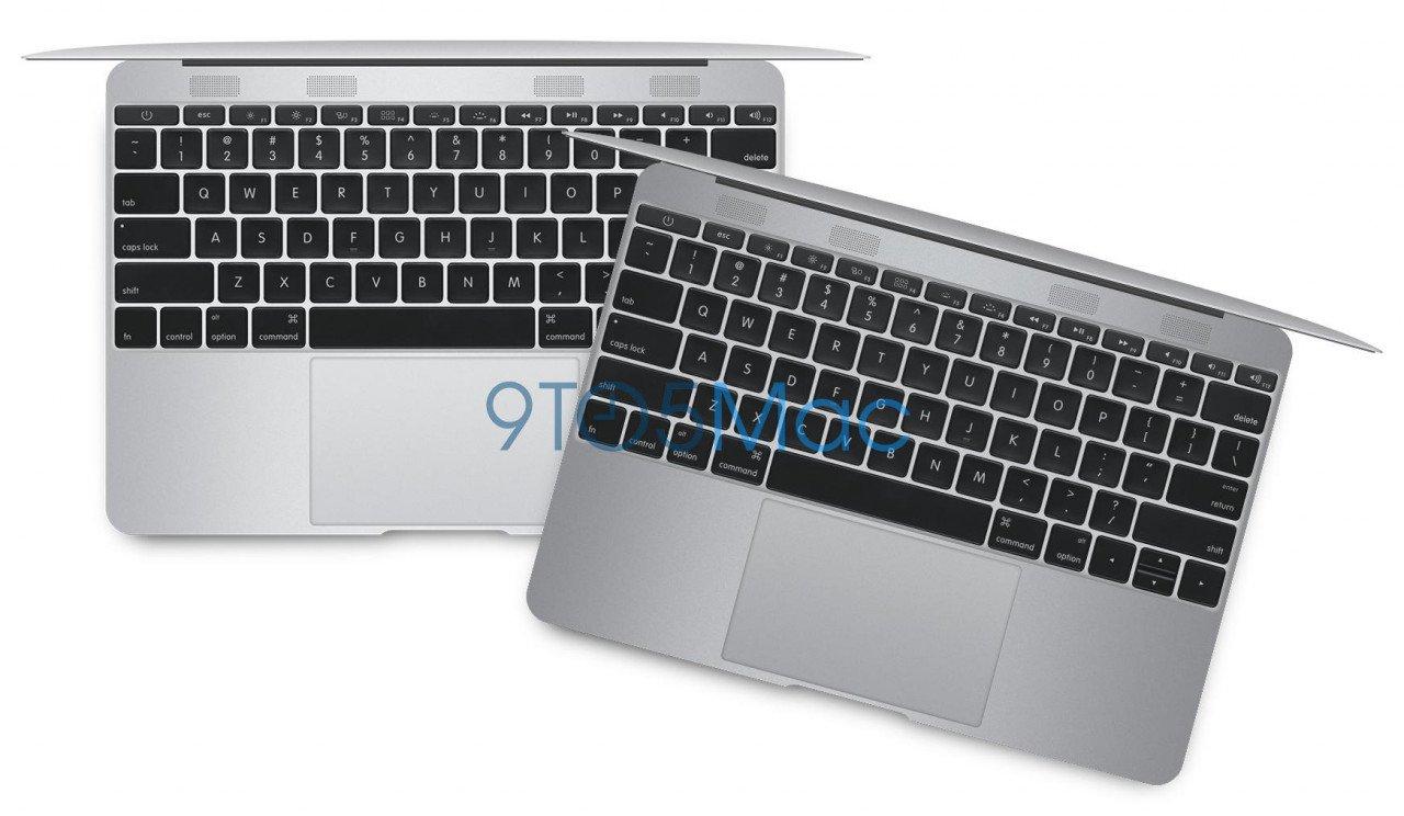 Σχεδιαστική εικασία για το επερχόμενο Macbook Air 12 ιντσών της Appe