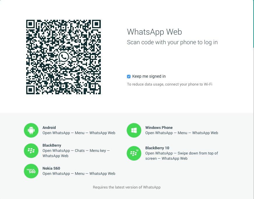 Προς το παρόν η εφαρμογή WhatsApp υποστηρίζεται μόνο από τον Chrome και δεν μπορεί να λειτουργήσει με iOS συσκευές